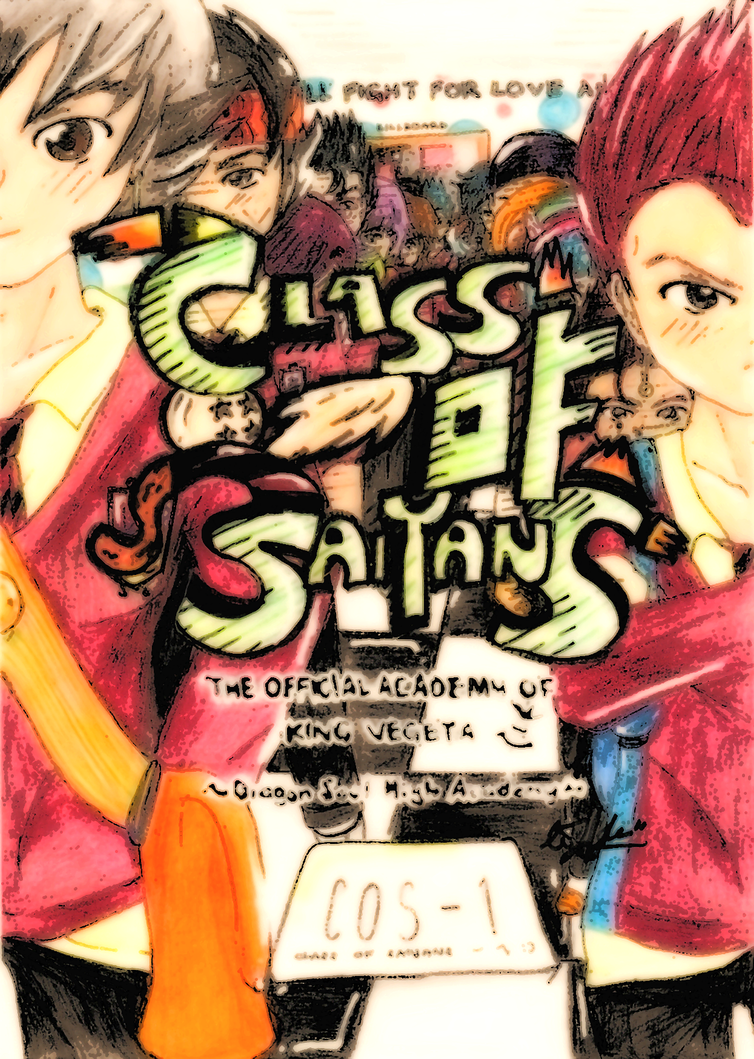Class Of Saiyans Page Title by chiici