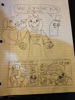 (Sketch gift) Undertale Understandings
