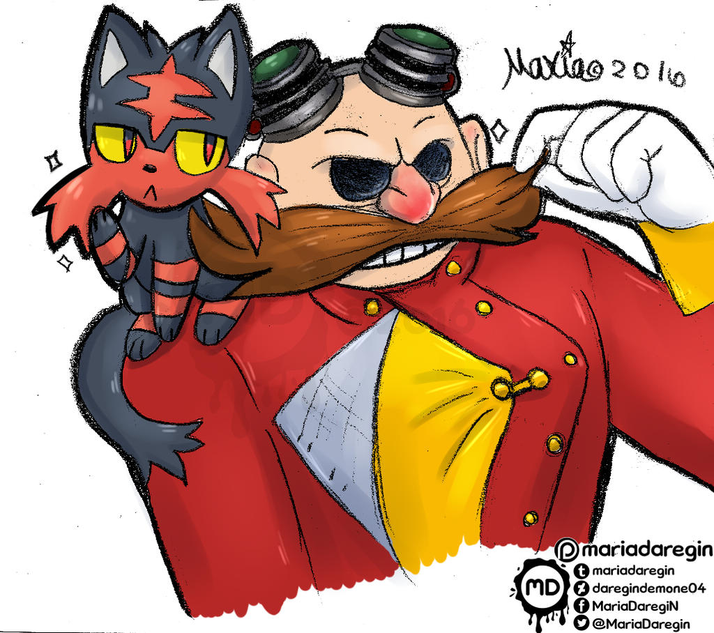 Pokemon Showdown et Stratégie Pokémon Litten_and_eggman_by_daregindemone04-da26hqg