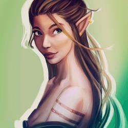 Elf 2 by SasjaAnne
