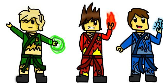 Ninjago part 3 lloyd kai and jay by beatriz1609 on deviantart - Ninjago lloyd and kai ...