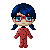 Pixel: Ladybug by blue-pixellated