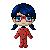 Pixel: Ladybug by blue-pixellated