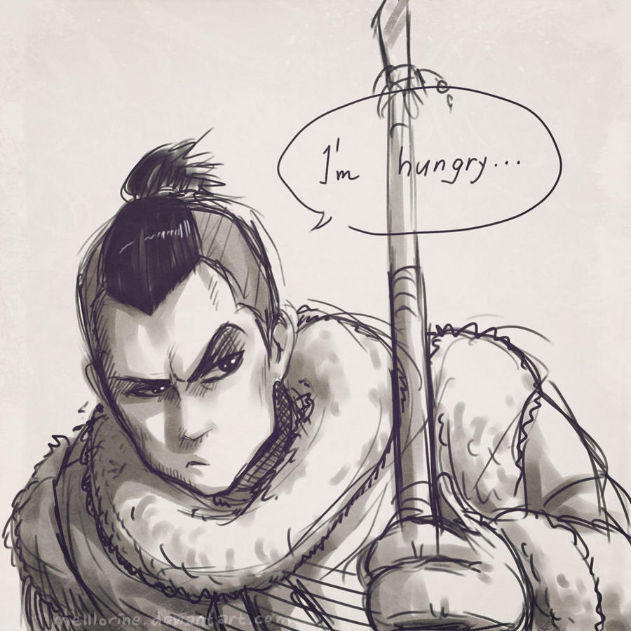 Sokka Sketch by Melllorine