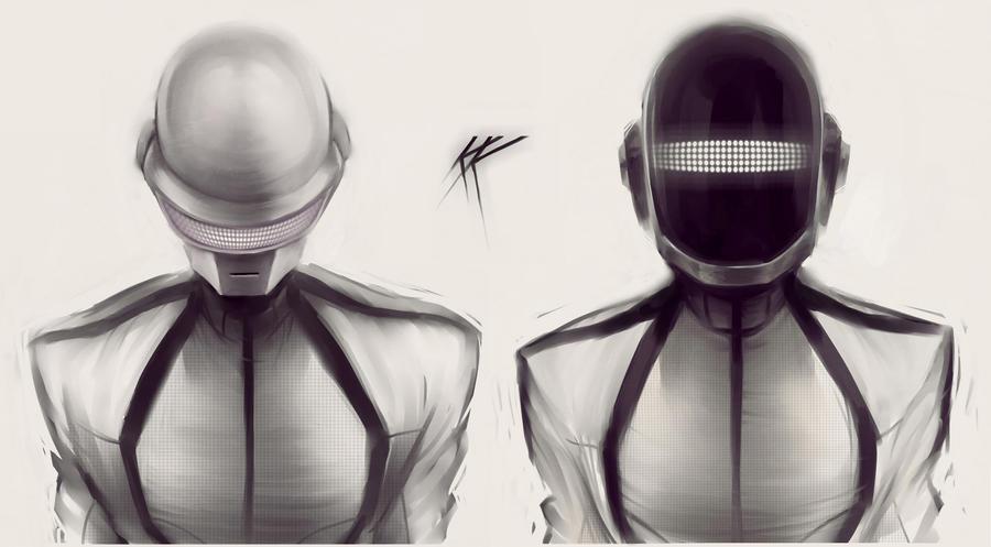 Daft Punk by Melllorine