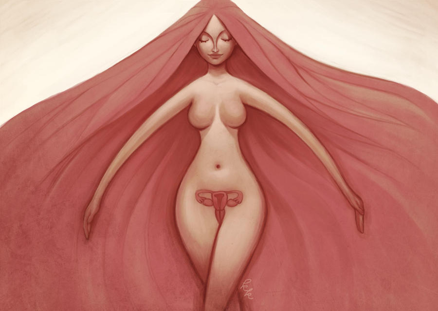 the female body by Melllorine