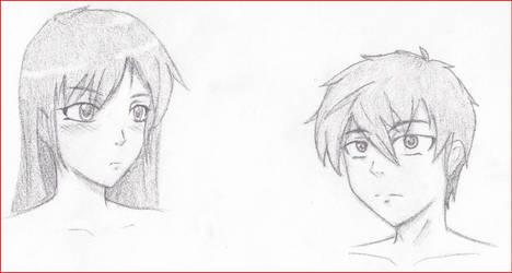 More Manga Heads by CLJ199