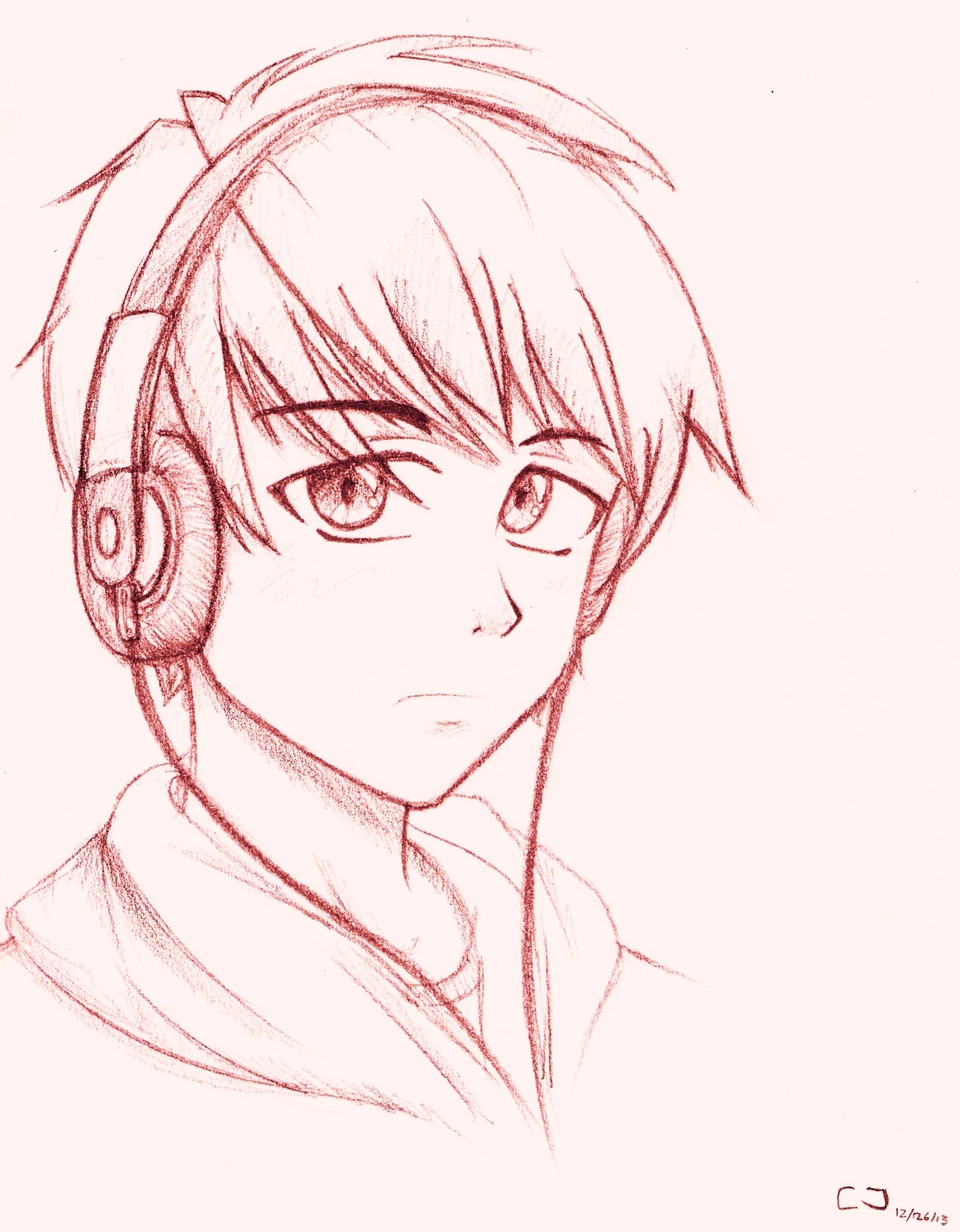 Manga teen by CLJ199