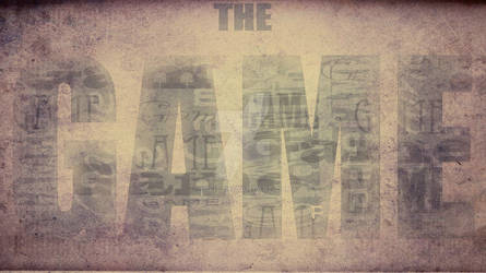 :The Game wallpaper: by Mifit