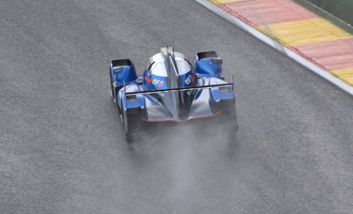 WEC SPA 2019 Alpine Matmut at wet. by c4mper
