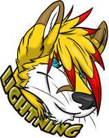 Dashing Foxy Badge by LightningTheFox7