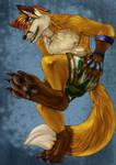 Demon Fox Released Anthro