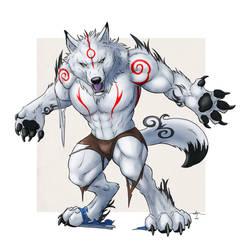 Praise the Sun Werewolf