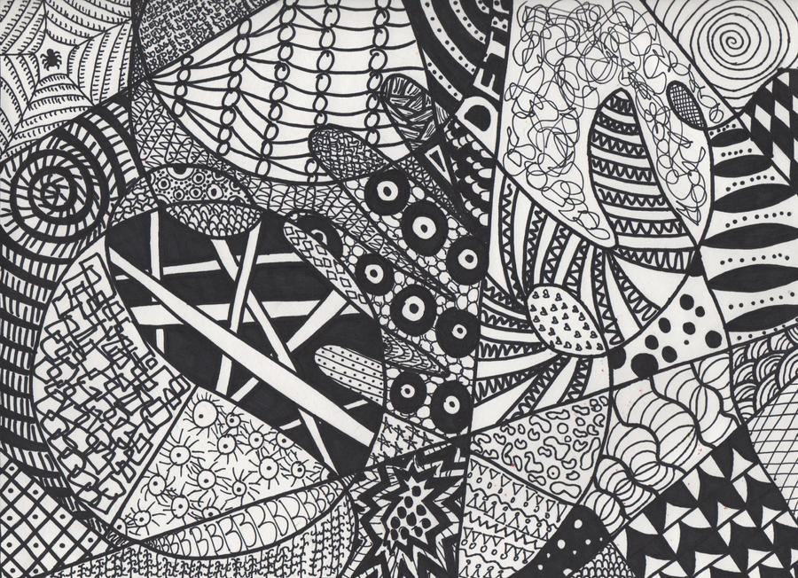 zentangle 3 by sucky art girl101