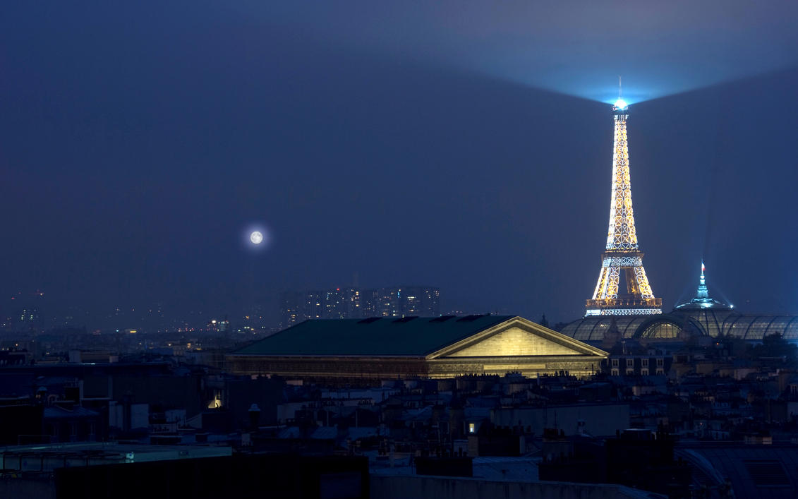 Paris 02 2560x1600 by tezdesign