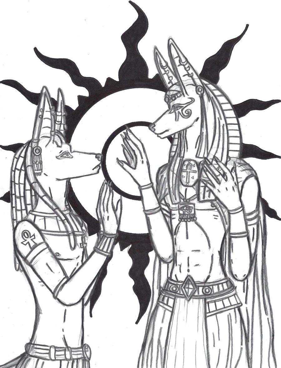 Ancestral meeting by Benhur1994