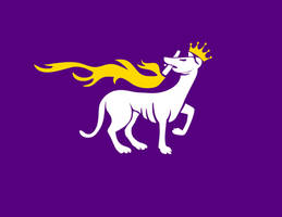 Monarchist distributism flag by Alchetbeachfan