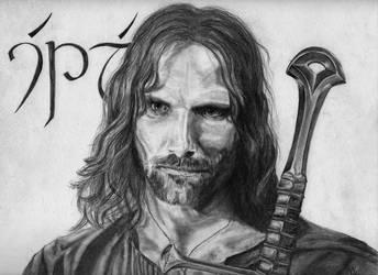 Aragorn by xshelaghx