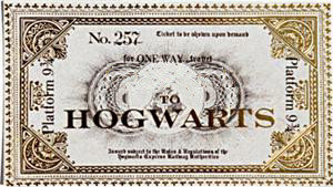 Hogwarts ticket by taffycat123