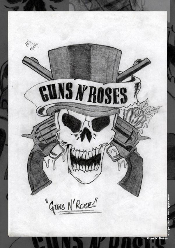 Skulls And Guns And Roses