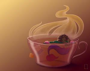 Mermaid in a Teacup