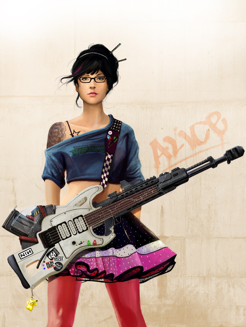 Alice and her Guitar -