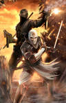 Snake Eyes and Storm Shadow -