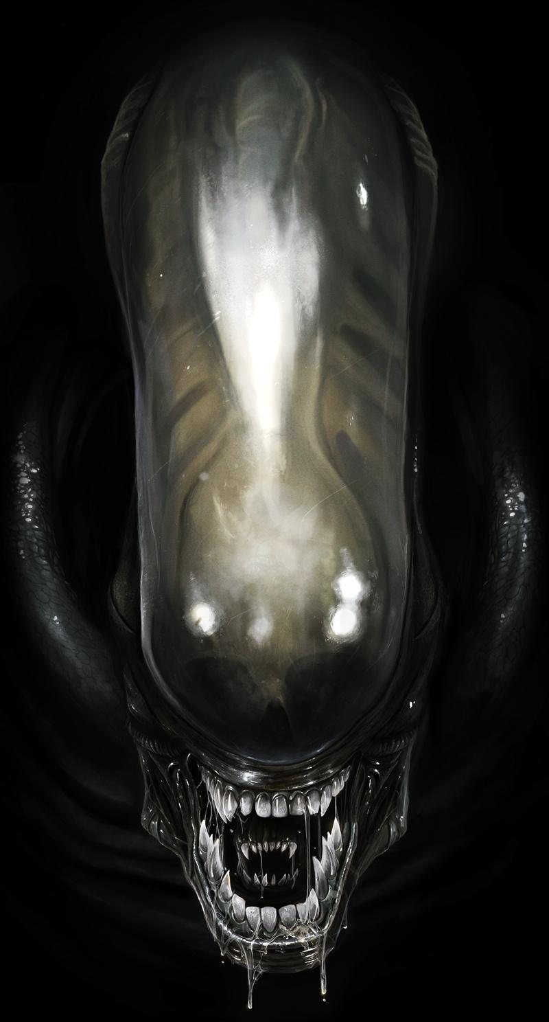 xenomorph warrior head - photo #15