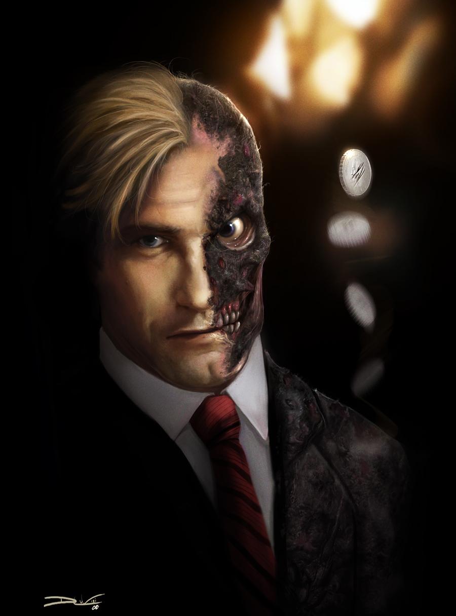 Harvey Dent New Earth: Comics Forever, The Dark Knight: Harvey Dent As Two Face