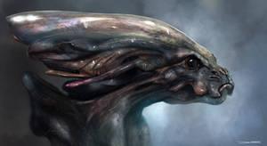 Greys Alien Bust -