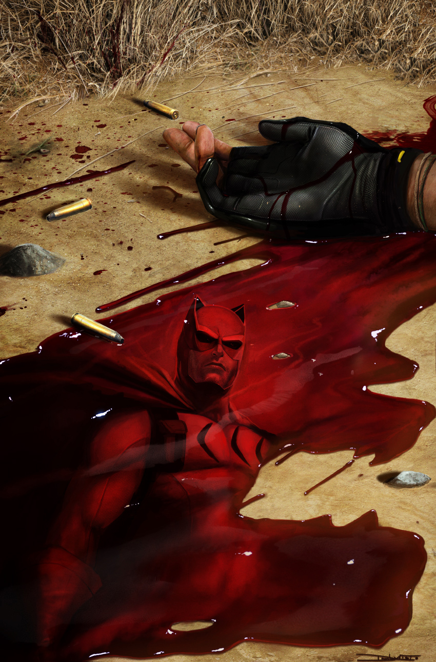 DC - Bloody S6 cover -