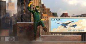 KICK ASS - ROOF JUMPING