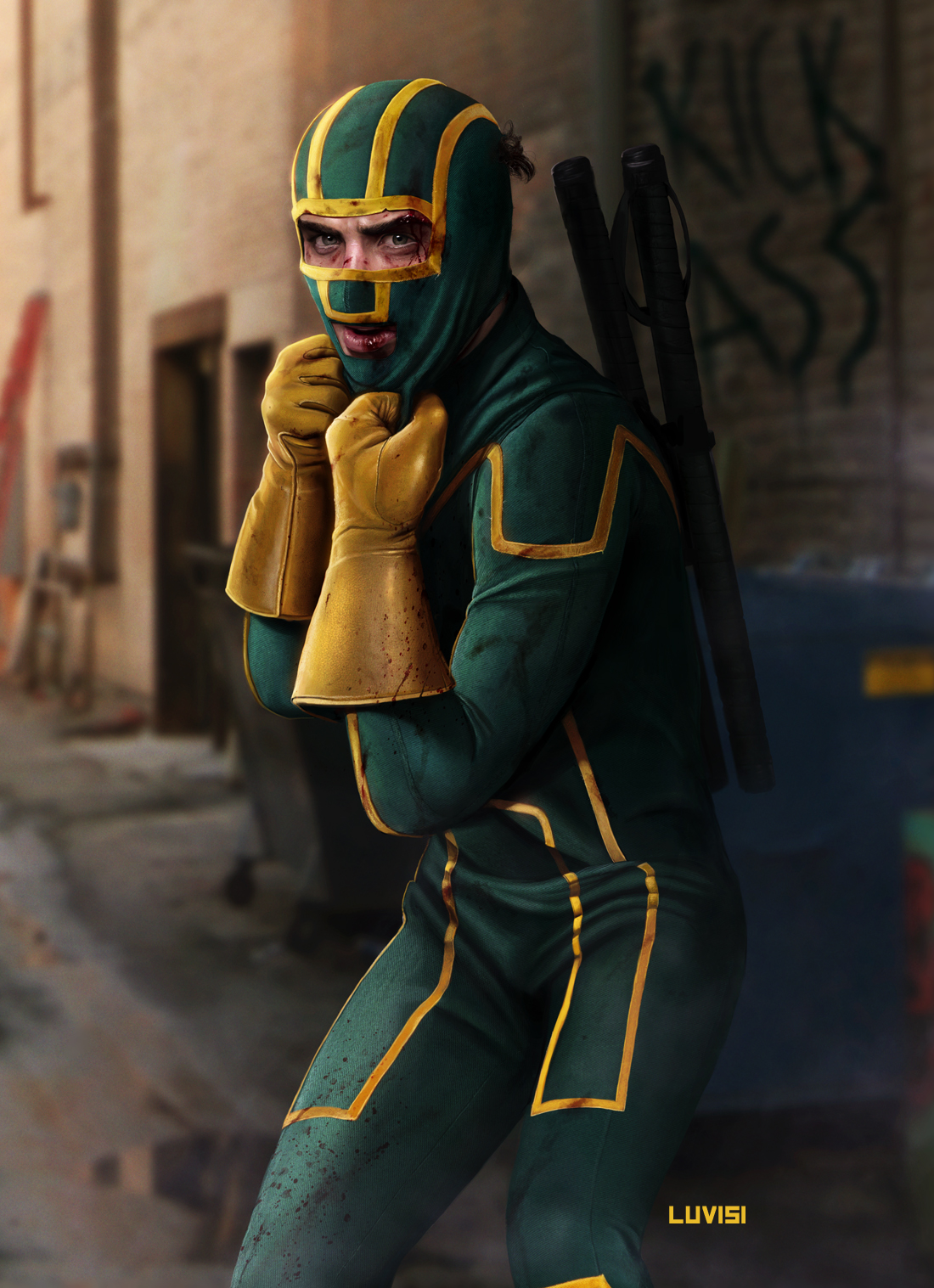 Love Wallpaper Kickass : KIcK-ASS - by DanLuVisiArt on DeviantArt