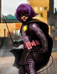 HIT GIRL - by DanLuVisiArt