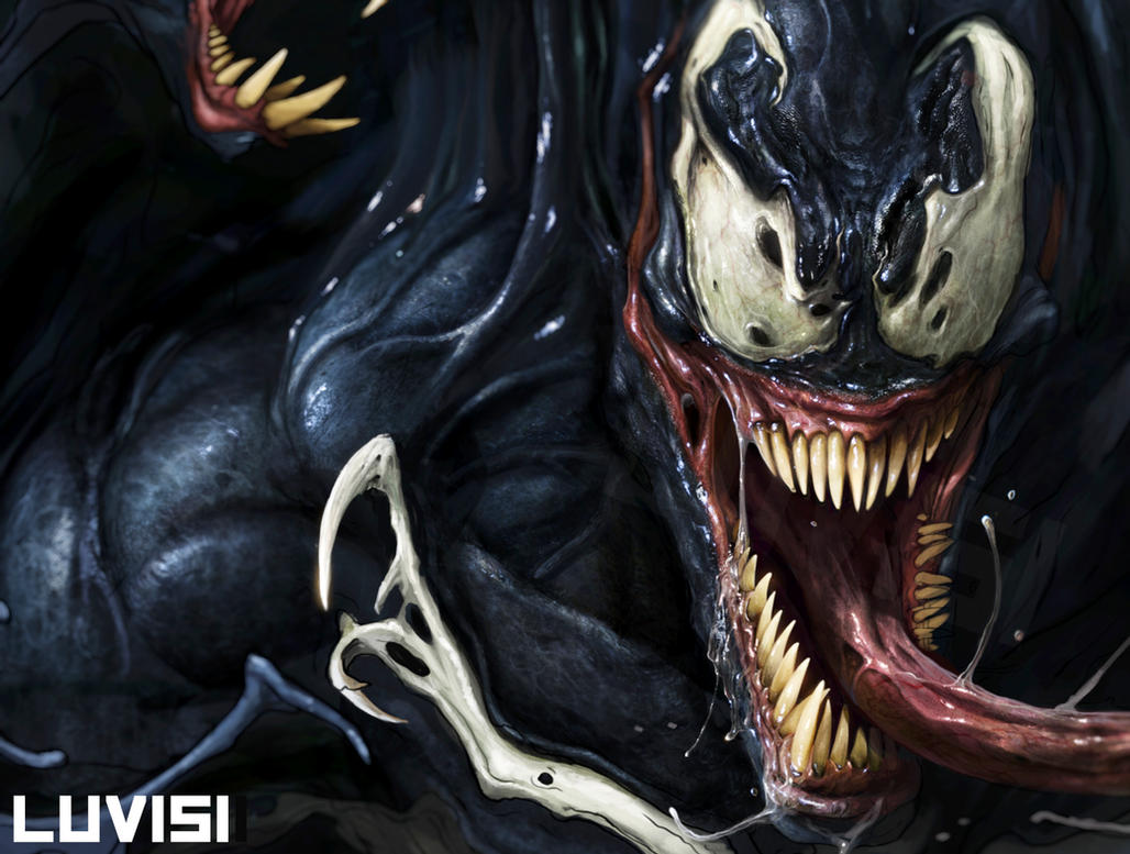 Venom WIP by DanLuVisiArt