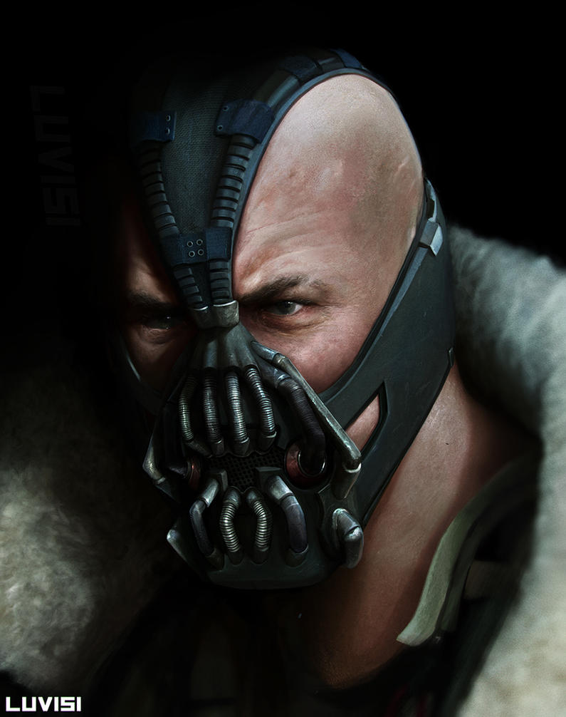 BANE - by DanLuVisiArt on DeviantArt