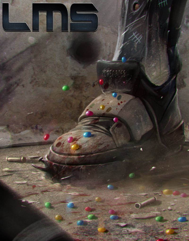LMS: Killbook of a Bounty Hunter Reprint tease... by DanLuVisiArt