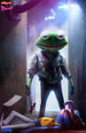 KERMIT - DRIVE - by DanLuVisiArt
