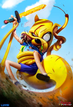Jake the Snake - Adventure Time -