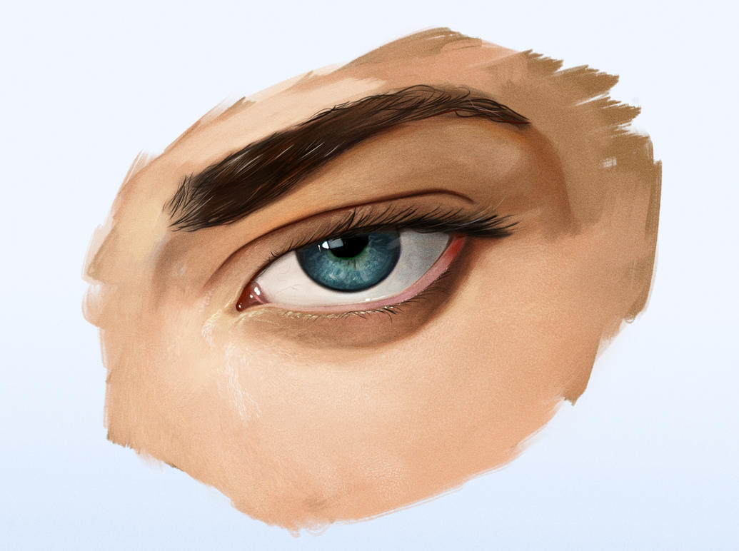 Eye Tutorial - Video by DanLuVisiArt