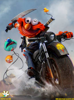 ELMO - The Muppet Bounty Hunter