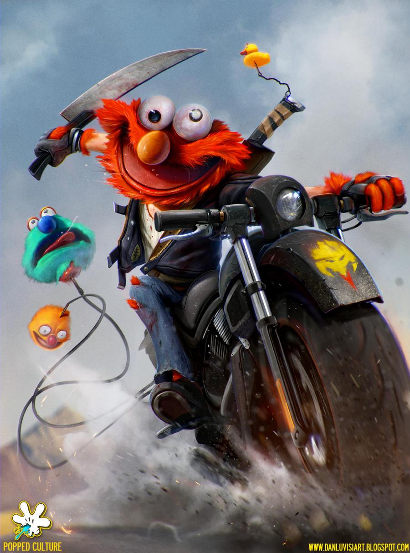 ELMO - The Muppet Bounty Hunter