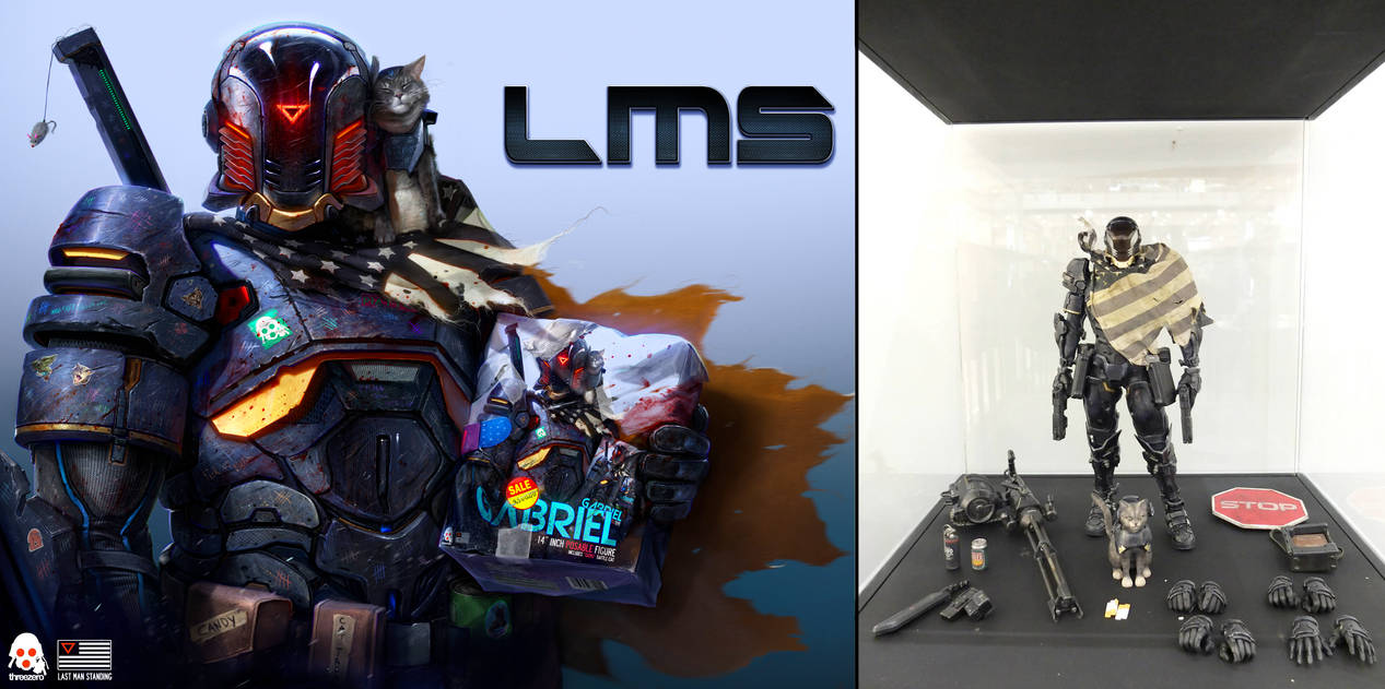 LMS - THREEZERO BOX FIGURE
