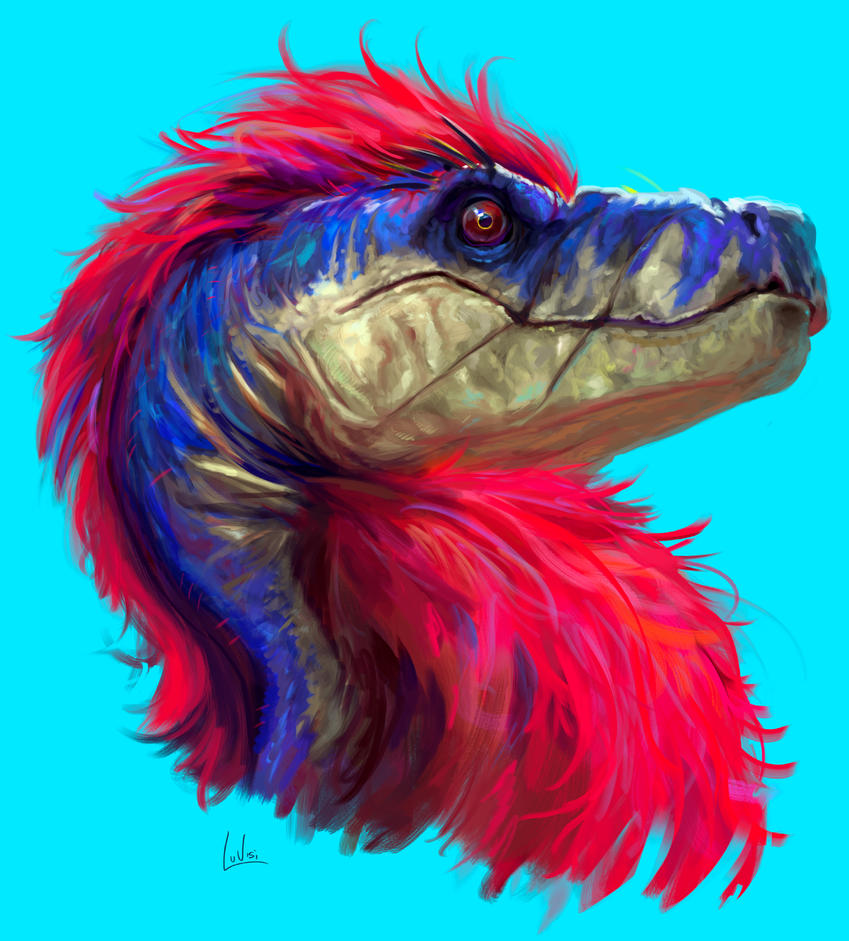 raptor - by DanLuVisiArt