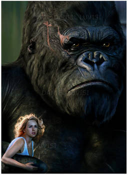 King Kong Detail -