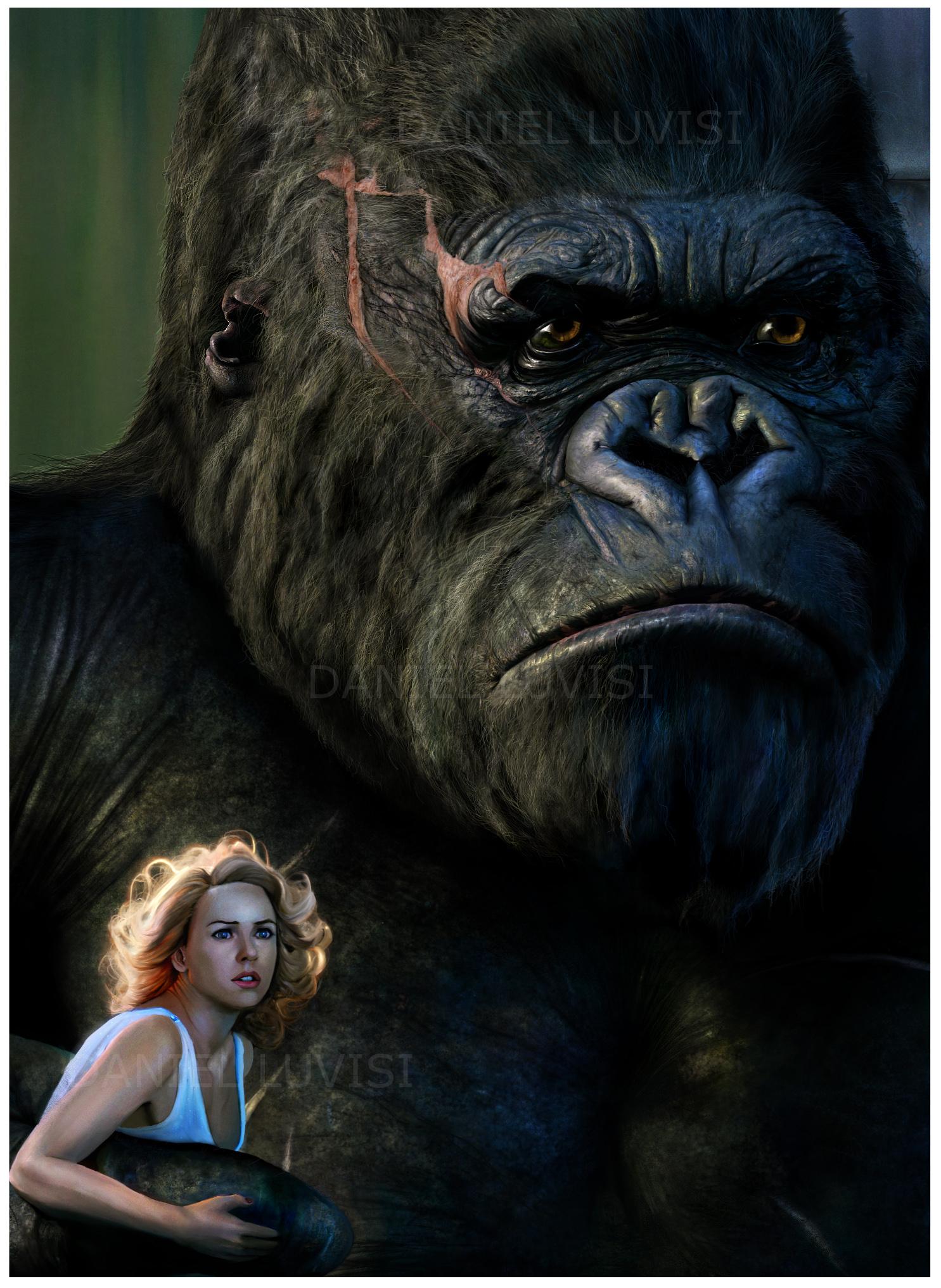 King Kong Detail -