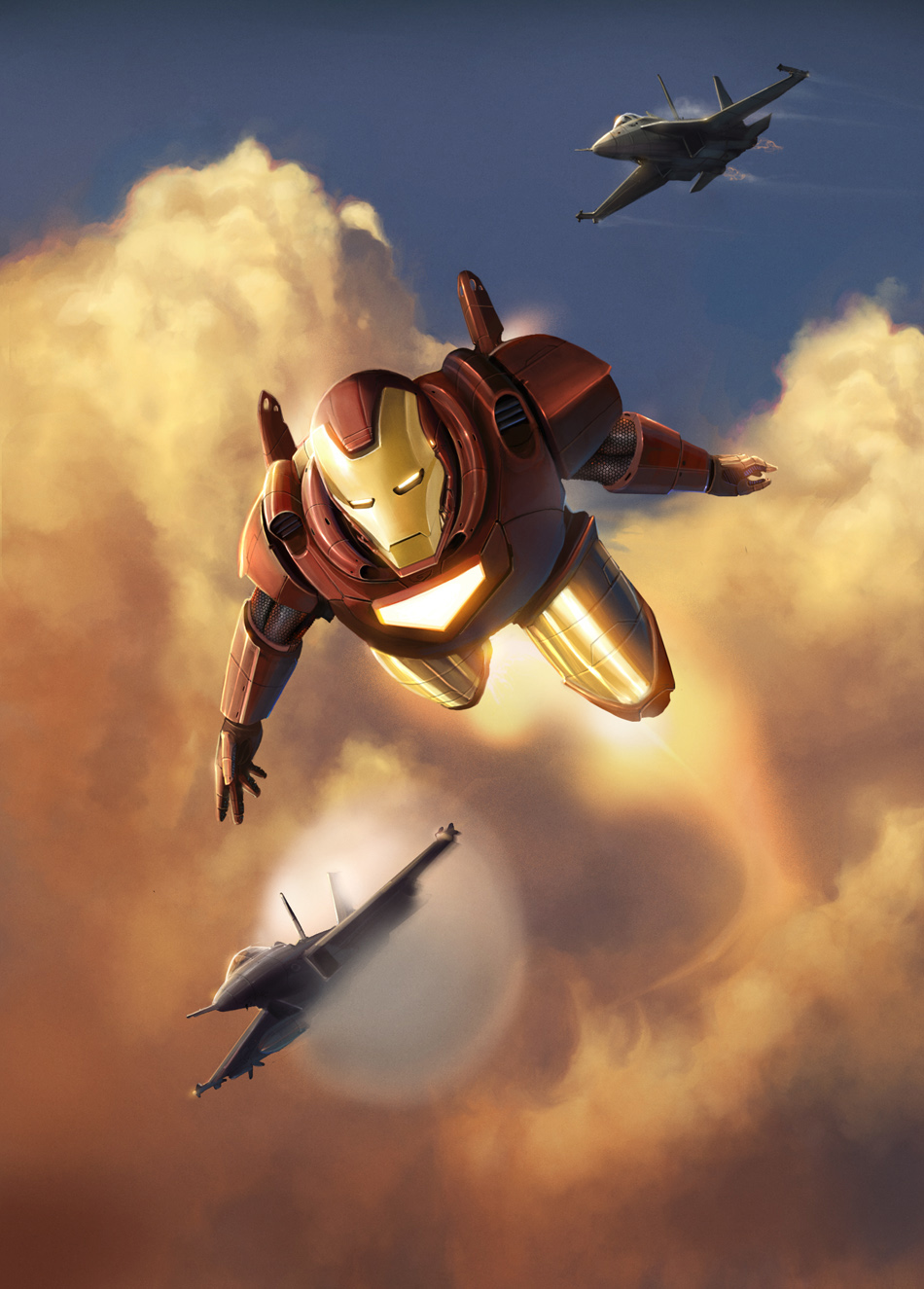 Invincible - MARVEL 02 IRONMAN by DanLuVisiArt