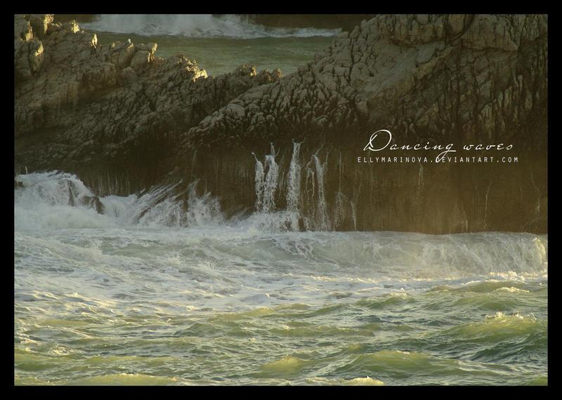 dancing waves by ellymarinova