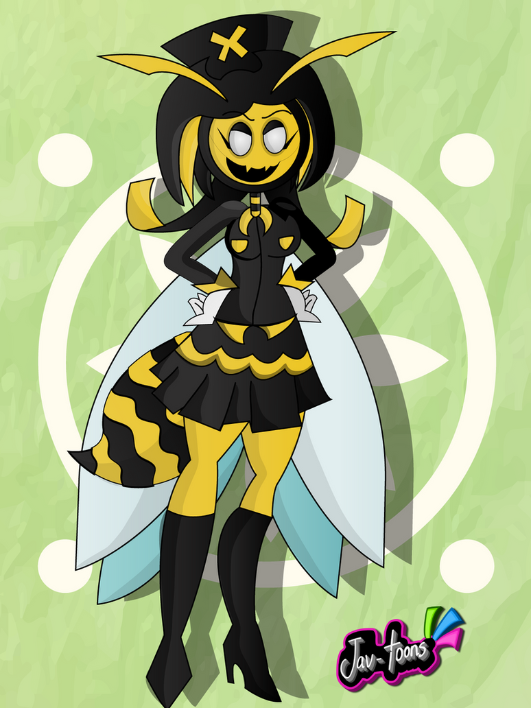 Wasp woman by Jav-toons
