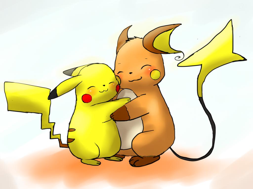 Uncategorized Raichu And Pikachu rraichu hug pikachu by alvro on deviantart alvro